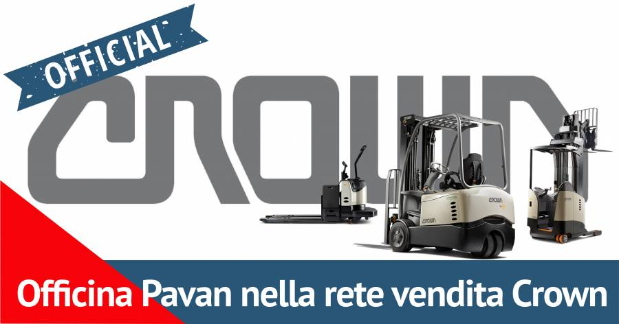 Foto - Officina Pavan, concessionario carrelli elevatori Crown